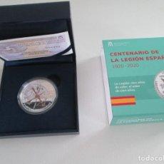 Monedas de Felipe VI: FELIPE VI * 10 EURO 2020 * CENTENARIO DE LA LEGION ESPAÑOLA * PLATA. Lote 244014090