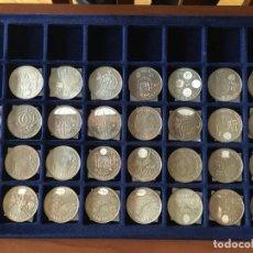 Monedas de Felipe VI: LOTE MONEDAS PLATA JUANCARLOS SOFIA FELIPE Y LETICIA. Lote 246099895