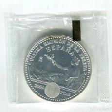 Monedas de Felipe VI: 2000 PESETAS JUAN CARLOS I AÑO 2001 PLATA PRECINTADA. Lote 246205845