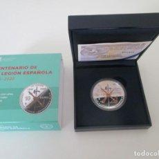Monedas de Felipe VI: FELIPE VI * 10 EURO 2020 * CENTENARIO DE LA LEGION ESPAÑOLA * PLATA. Lote 246352370