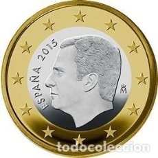 """Monedas de Felipe VI: 1 EURO ESPAÑA 2021 """"FELIPE"""" SC. Lote 247128880"""