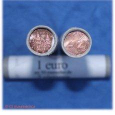 Monedas de Felipe VI: CARTUCHO 50 MONEDAS 2 EURO CENT ESPAÑA 2021, EN CALIDAD SC. Lote 248096935