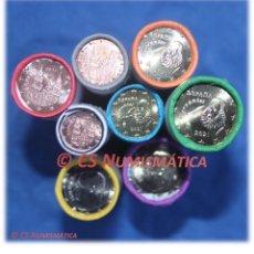 Monedas de Felipe VI: 8 CARTUCHOS 320 MONEDAS SERIE ESPAÑA 2021, EN CALIDAD SC. Lote 248106440