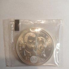 Monedas de Felipe VI: MONEDA DE PLATA BODA FELIPE Y LETICIA 12 EU.. Lote 248303495