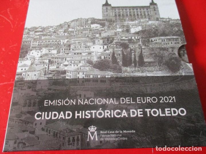 ESPAÑA. EMISIÓN NACIONAL DEL EURO 2021 ACUÑADA POR LA FNMT (Numismática - España Modernas y Contemporáneas - Felipe VI)