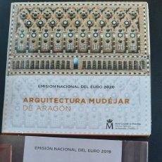 Monedas de Felipe VI: ESPAÑA CARTERA FNMT EUROS 2019 PRADO / 2020 ARQUITECTURA MUDÉJAR NUMISMÁTICA COLISEVM. Lote 252749600