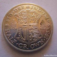 Monete di Felipe VI: REINO UNIDO . MEDIA CORONA DE PLATA ANTIGUA . AÑO 1933 . MUY BONITA. Lote 253408270