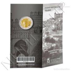 Monedas de Felipe VI: ESPAÑA CARTERITA OFICIAL 2 EURO 2021 CIUDAD HISTORICA DE TOLEDO PROOF. Lote 253505185