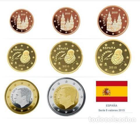 Monedas de Felipe VI: 8 Cartuchos 320 monedas Serie España 2021, en calidad SC - Foto 2 - 253939785