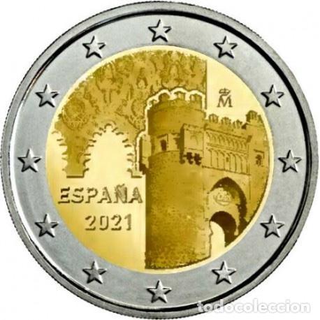 """Monedas de Felipe VI: Serie España 2021 SC + 2€ Conmemorativa 2021 """"Toledo"""" - Foto 4 - 254436640"""