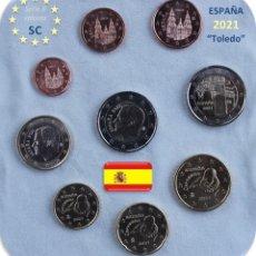 "Monedas de Felipe VI: SERIE ESPAÑA 2021 SC + 2€ CONMEMORATIVA 2021 ""TOLEDO"". Lote 254436640"