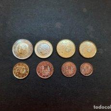Monedas de Felipe VI: SERIE DE EUROS DE ESPAÑA DEL AÑO 2021,SEIRIE 8 VALORES,DE 1CTMS A 2€ (S/C). Lote 271608553
