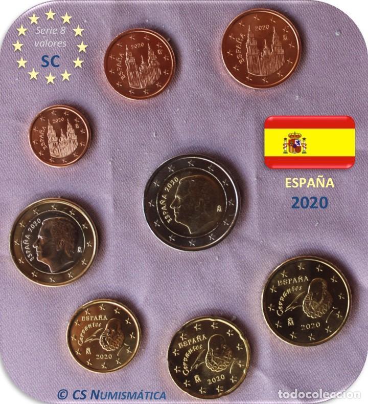 SERIE ESPAÑA 2020 SC (Numismática - España Modernas y Contemporáneas - Felipe VI)