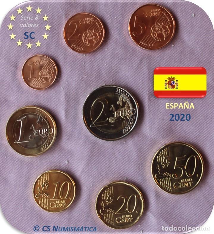 Monedas de Felipe VI: Serie España 2020 SC - Foto 2 - 253938870