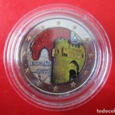 Monedas de Felipe VI: ESPAÑA. 2 EUROS CONMEMORATIVOS 2021. ESMALTADOS. CASCO ANTIGUO DE TOLEDO. Lote 269204218