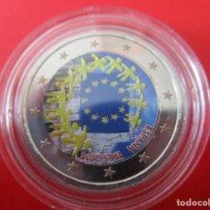 Monedas de Felipe VI: ESPAÑA. 2 EUROS CONMEMORATIVOS 2015. ESMALTADOS. BANDERA. Lote 269703693