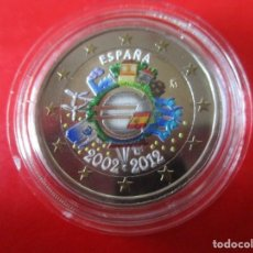 Monedas de Felipe VI: ESPAÑA. 2 EUROS CONMEMORATIVOS 2012. ESMALTADOS TRATADO EURO. Lote 269706208