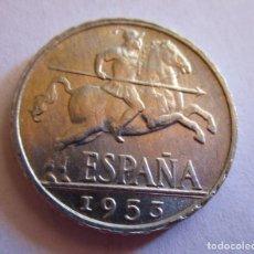 Monedas de Felipe VI: DIEZ CENTIMOS DE 1953 . CALIDAD SIN CIRCULAR. Lote 269994678