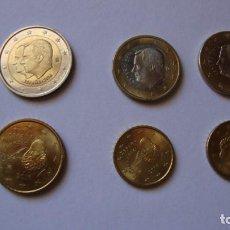 Monedas de Felipe VI: LOTE 6 MONEDAS EUROS ESPAÑA SIN CIRCULAR VER DESCRIPCION Y FOTOS. Lote 274770553