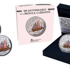 Monedas de Felipe VI: ESPAÑA: 10 EURO PLATA 2021 PROOF 450 ANIVERSARIO DE LA BATALLA DE LEPANTO. Lote 276937243