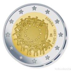 Monedas de Felipe VI: MONEDA 2€ CONMEMORATIVA 2015 BANDERA SC. Lote 276970903