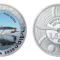 Monedas de Felipe VI: ESPAÑA 1,5 EURO 2020 MULTICOLOR DORNIER WAL - PLUS ULTRA - HIDROAVIÓN MILITAR. Lote 278228798