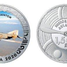 Monedas de Felipe VI: ESPAÑA 1,5 EURO 2020 MULTICOLOR F-4C PHANTOM -CAZA BOMBARDERO SUPERSÓNICO. Lote 278234778