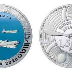 Monedas de Felipe VI: ESPAÑA 1,5 EURO 2020 MULTICOLOR LOCKHEED P-3 - AVIÓN DE PATRULLA MARITIMA. Lote 278267508