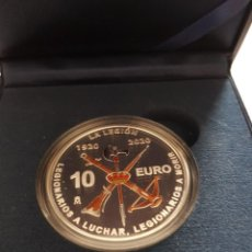Monedas de Felipe VI: ESPAÑA, 2020, 10 EUROS PLATA... CENTENARIO DE LA LEGION ESPAÑOLA,..1920 / 2020, EDICION MUY LIMITADA. Lote 279358263