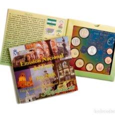 Monedas de Felipe VI: ESPAÑA 2008 SET ESPECIAL AUTONOMIAS - ANDALUCIA CON MEDALLA PLATA. Lote 286611573