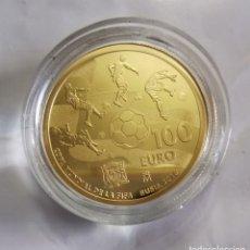 Monedas de Felipe VI: MONEDA DE ORO REY FELIPE VI MUNDIAL FIFA RUSIA 2018 (EMISIÓN 2017). NUMISMATICA. NUEVA. Lote 292241763