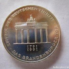 Monedas de Felipe VI: 10 MARCOS DE PLATA DEL AÑO 1991 - A . MAXIMA CALIDAD . FDC . ACABADO EN PROOF . MUY ESCASA. Lote 294122633