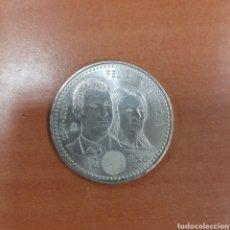 Monedas de Felipe VI: MONEDA DE 12 EUROS. FELIPE Y LETIZIA. 2004. Lote 296778493