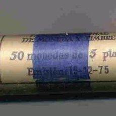 Monedas FNMT: CARTUCHO MONEDAS 5 PESETAS 1984 F.N.M.T. OFICIAL ,50 PIEZAS. Lote 205330033