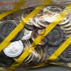 Monedas FNMT: BOLSA DE 50 MONEDAS DE 200 PESETAS 1999 FNMT OFICIAL , ORIGINAL. Lote 69313861