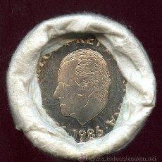 Monedas FNMT: CARTUCHO ORIGINAL DE LA F.N.M.T. 25 MONEDAS DE 200 PESETAS 1986 TODAS SIN CIRCULAR Y PERFECTAS. Lote 27588899