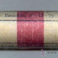 Monedas FNMT: CARTUCH0 ORIGINAL DE LA F.N.M.T. 40 MONEDAS DE 25 PESETAS AÑO 1975*77. Lote 26624552