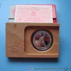 Monete FNMT: 2000 PESETAS PLATA BARCELONA 1992 - BALONCESTO CON CAJAS Y CERTIFICADO FNMT. Lote 21482637