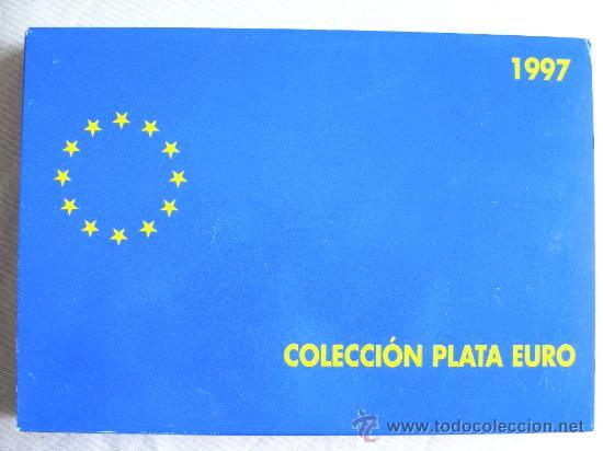 COLECCION EURO 1997 PLATA COMPLETA 3 MONEDAS (Numismática - España Modernas y Contemporáneas - FNMT)