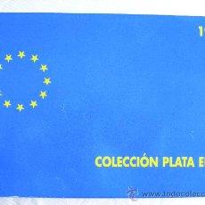Monedas FNMT: COLECCION EURO 1997 PLATA COMPLETA 3 MONEDAS. Lote 27333320