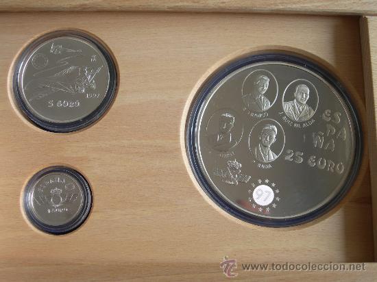 Monedas FNMT: COLECCION EURO 1997 PLATA COMPLETA 3 MONEDAS - Foto 3 - 27333320