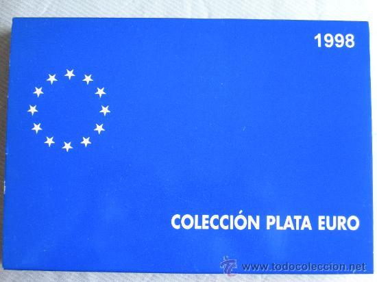 COLECCION EURO 1998 PLATA COMPLETA 3 MONEDAS (Numismática - España Modernas y Contemporáneas - FNMT)