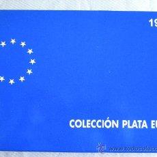 Monedas FNMT: COLECCION EURO 1998 PLATA COMPLETA 3 MONEDAS. Lote 27318334