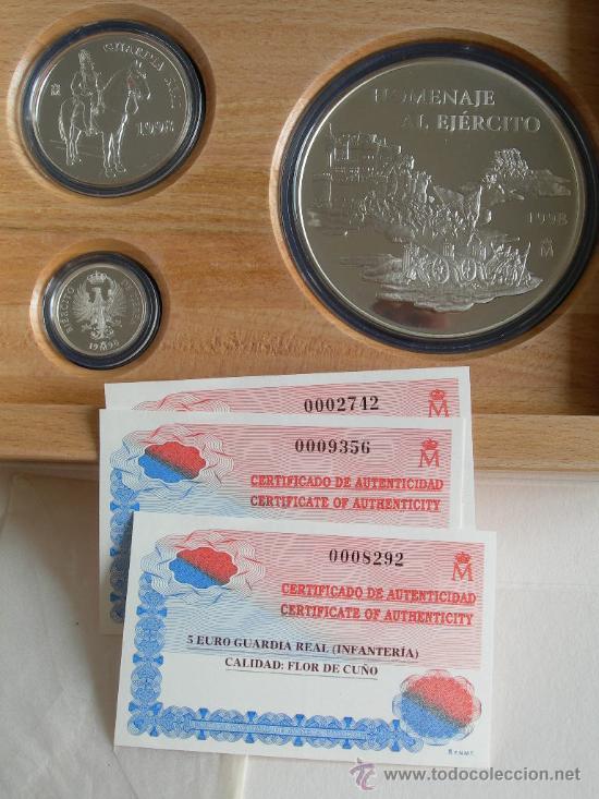 Monedas FNMT: COLECCION EURO 1998 PLATA COMPLETA 3 MONEDAS - Foto 3 - 27318334