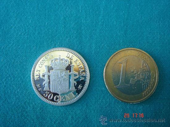 Monedas FNMT: VISTA OTRA CARA Y COMPARATIVA DIMENSIONES - Foto 2 - 26852471