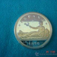 Monedas FNMT: VEINTE CÉNTIMOS DE PLATA -187O-. DIÁMETRO.- 2,5 CMS. EN SU ESTUCHE -FNMT-.. Lote 27247528