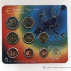 Monedas FNMT: CARTERA FNMT ESPAÑA 2003 (8 VALORES). SIN CIRCULAR. Lote 199924893
