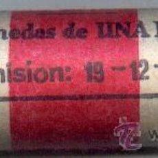 Monedas FNMT: CARTUCHO ORIGINAL DE LA F.N.M.T. 50 MONEDAS DE 1 PESETA AÑO 1975*76. Lote 26780052