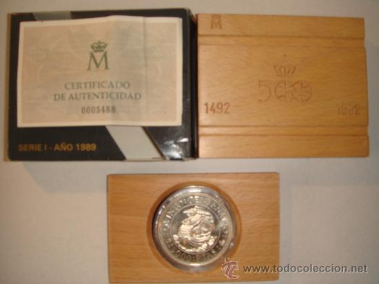 MONEDA 5.000 PTAS. PLATA FNMT (Numismática - España Modernas y Contemporáneas - FNMT)