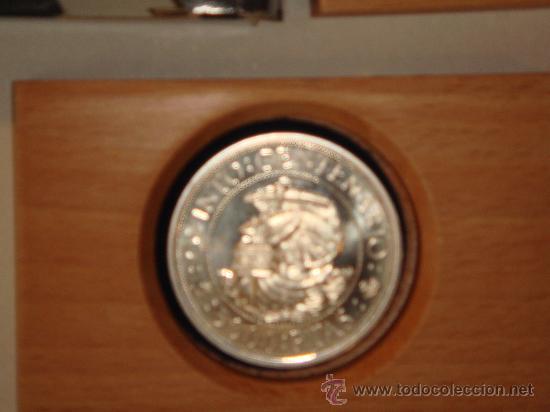 Monedas FNMT: Moneda 5.000 Ptas. plata FNMT - Foto 2 - 26480562